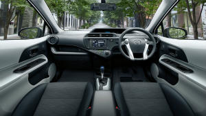 Prius c interior